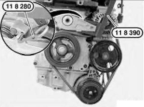 3505 Bmw Mini Cooper Serpentine Belt Tool Kit  R50  R53